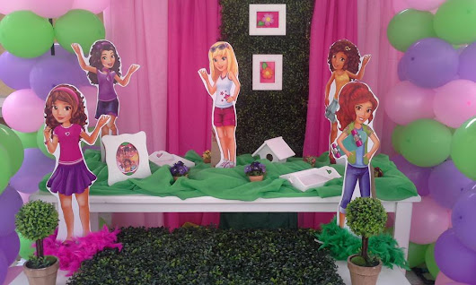 Fiesta Lego Friends