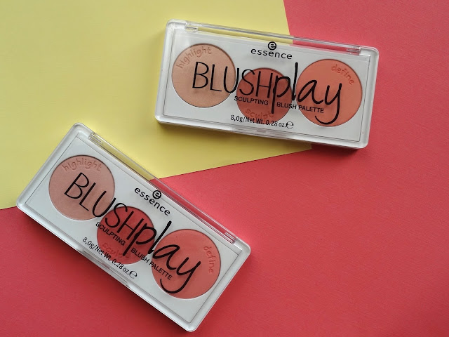 Essence Blushplay Sculpting Blush Palette