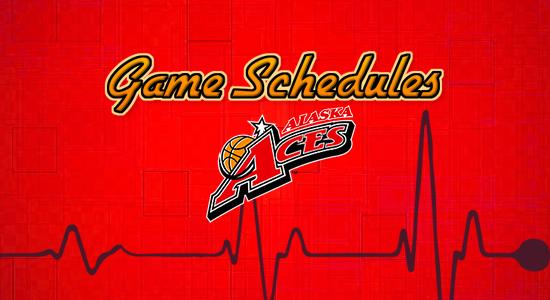 List: Alaska Aces Game Schedules 2017-2018 PBA Philippine Cup