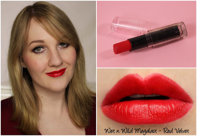 Wet n Wild Red Velvet lipstick swatches & review