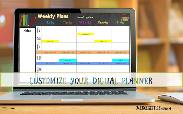 See how easy it is to customize a digital planner and make it your own!