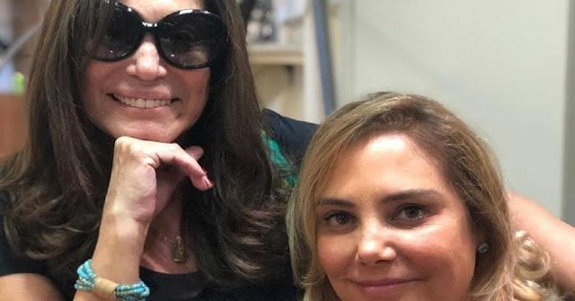 Suzana Vieira e Heloisa Périssé comemoram a vitória contra o câncer