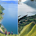 Bukit Siattar Atas Silalahi : Keindahan Alam Tao Silalahi Dengan Senjanya Yang Romantis