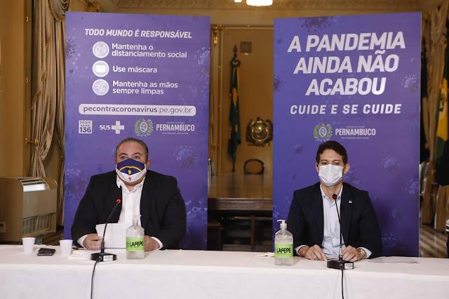 Em quatro dias, rede de assistência em Pernambuco ganha mais 80 leitos de UTI