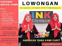 Open Recruitment at Ink Clinique Surabaya Juni 2021