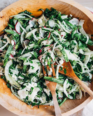 lemony-fennel-radish-kale-salad
