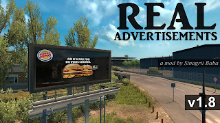 cover ets 2 real advertisements v1.8