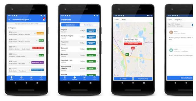 Download & Install MBTA Rail Mobile App