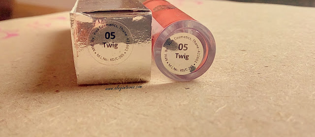 Review of Gala Of London Long Stay Lip Color #05 Twig