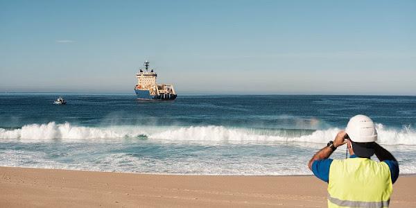 Cabo submarino transatlântico da EllaLink já ancorou em Portugal
