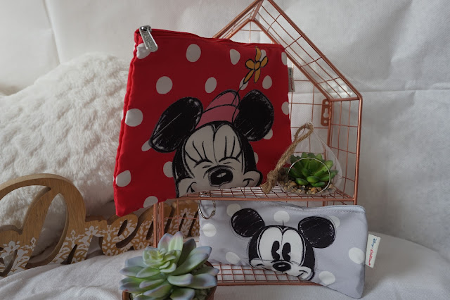 Cath Kidston x Disney - Minnie & Mickey Nylon Pouch Set