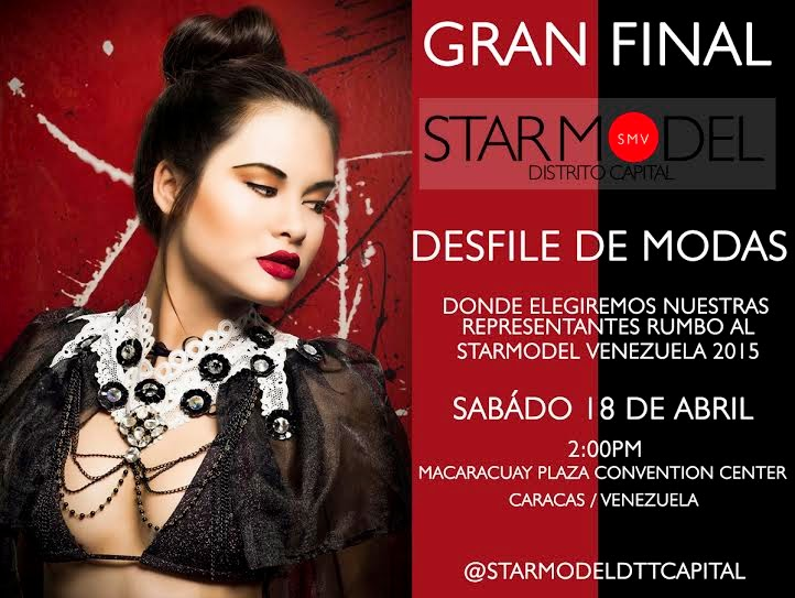 star model concurso 2016 2015 macaracuay plaza
