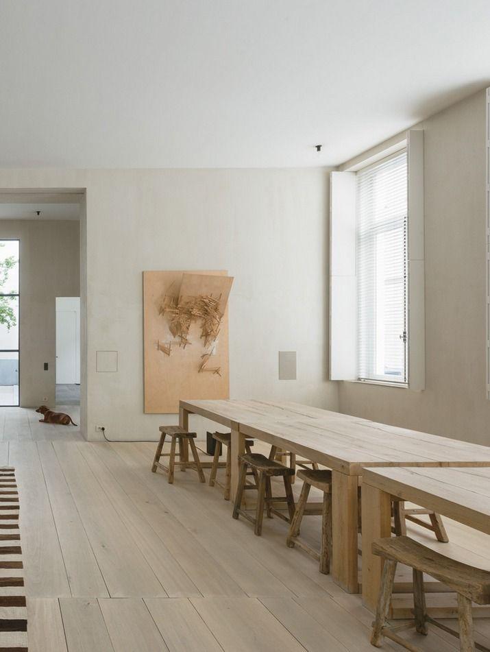 lunch latte vincent van duysen 39 s antwerp home. Black Bedroom Furniture Sets. Home Design Ideas