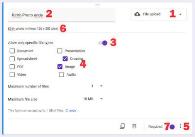 file upload google form