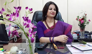 farhana nisho in office