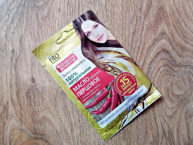 Fitokosmetik - Pieprzowy olejek do włosów z ekstraktem z jodły, chmielu i goździków - Aktywny wzrost, opakowanie