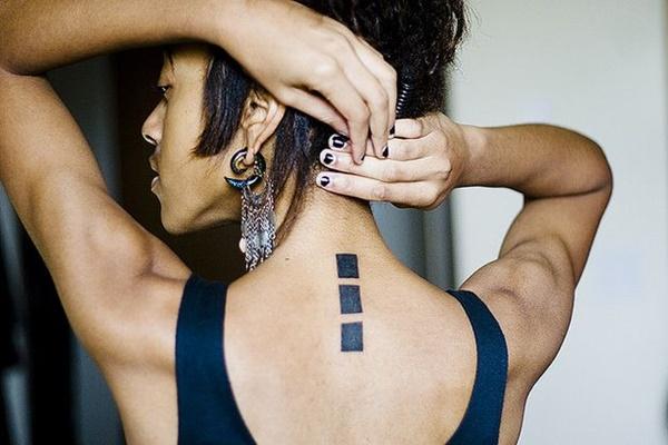Gambar tato punggung