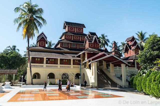 Monastère de U Na Auk - Kawhnat-Kadoe - Myanmar Birmanie