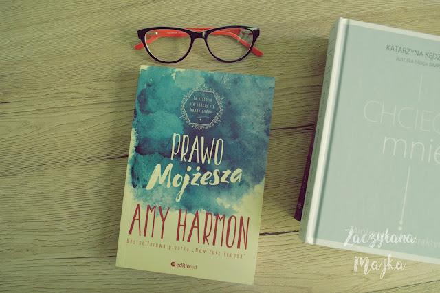 """[PRZEDPREMIEROWO] Recenzja #146 - Amy Harmon """"Prawo Mojżesza"""""""