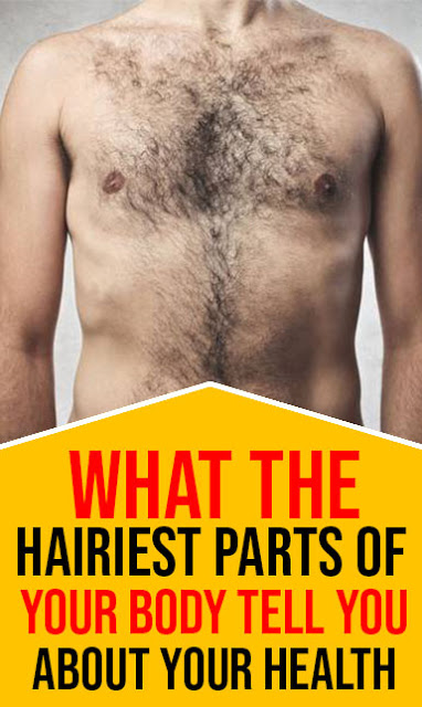 What The Hairiest Parts Of Your Body Tell You About Your Health
