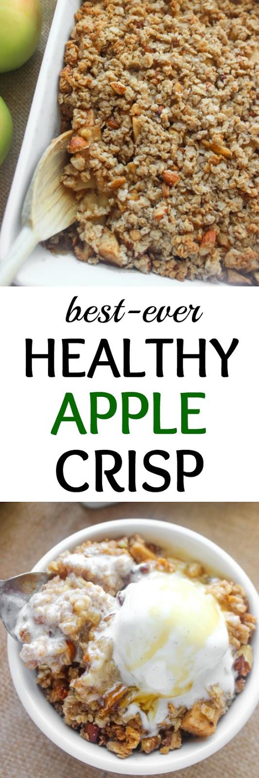 BEST - EVER HEALTHY APPLE CRISP