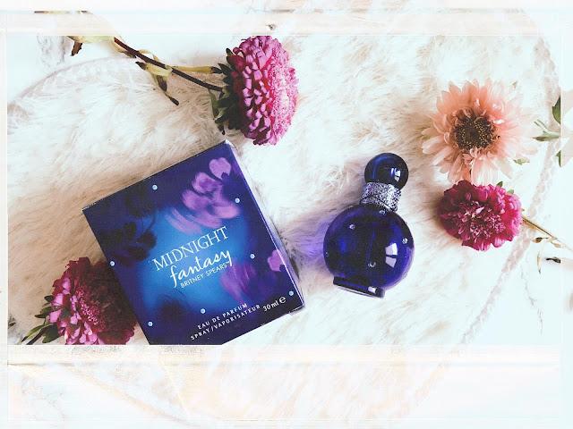 "Fantazja nocą - recenzja perfum Britney Spears ""Fantasy Midnight""."