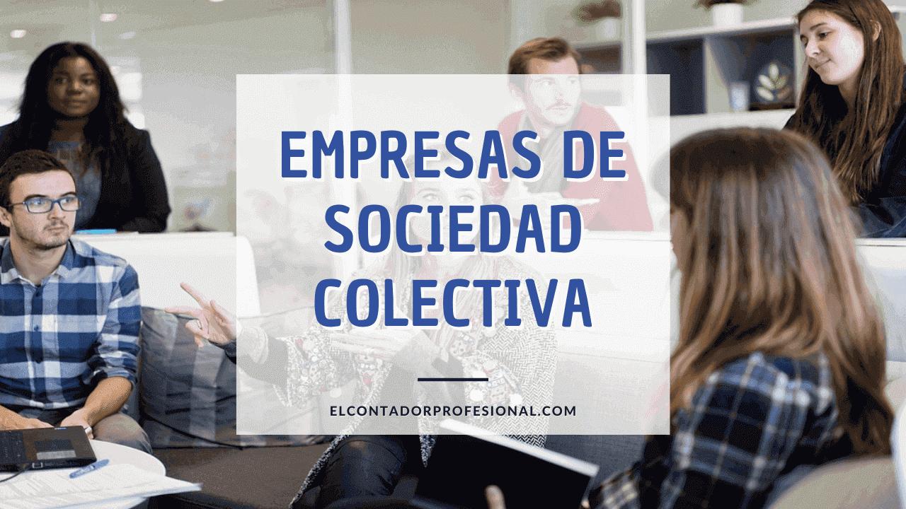 empresas de sociedad colectiva