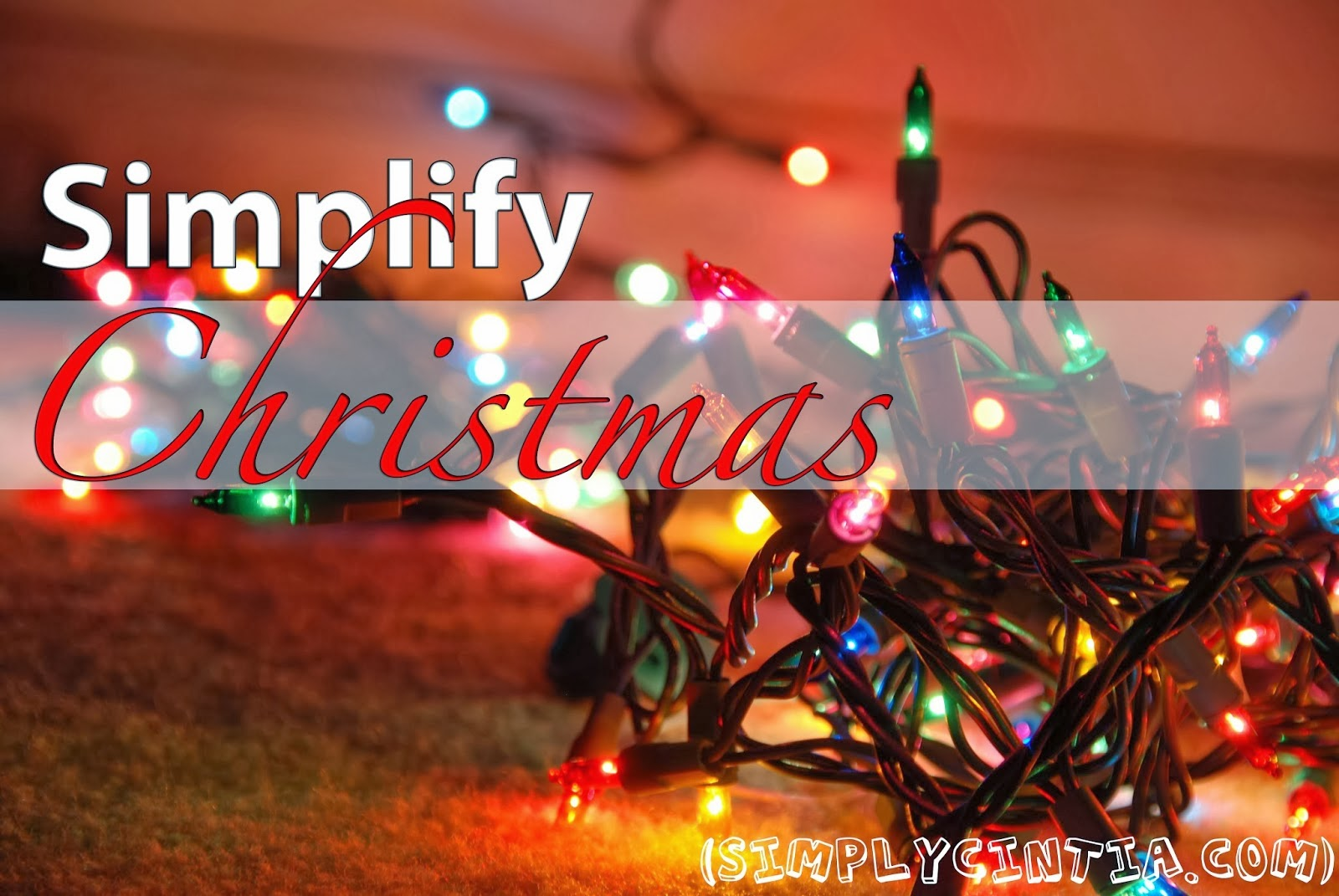 Simplify Christmas with Simply Cintia