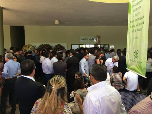 Corpo de Camilo Simões é cremado no Cemitério Morada da Paz