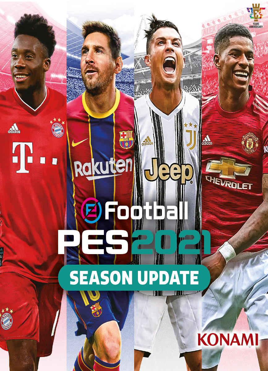Descargar eFootball PES 2021 PC Cover Caratula