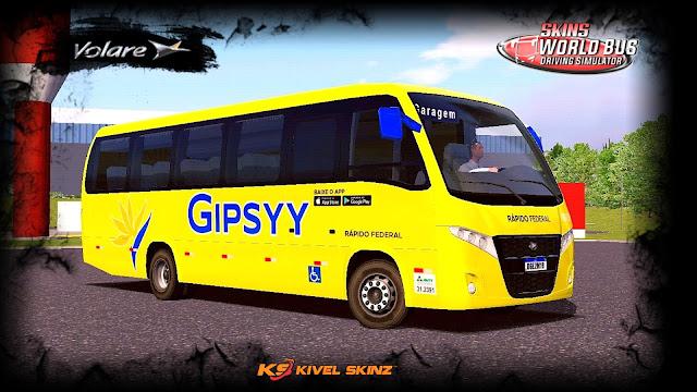 VOLARE W9 FLY - VIAÇÃO GIPSYY - RÁPIDO FEDERAL