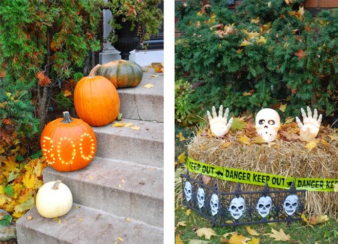 diy marquee pumpkin
