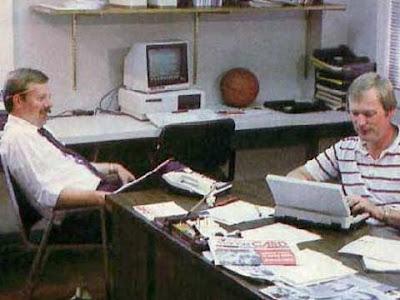 Un ufficio degli anni '80