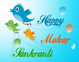 happy makar sankranti love sms