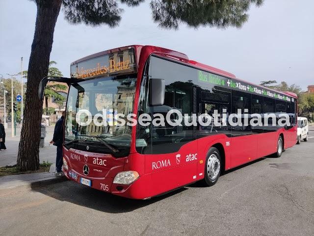 I nuovi bus ibridi di Roma