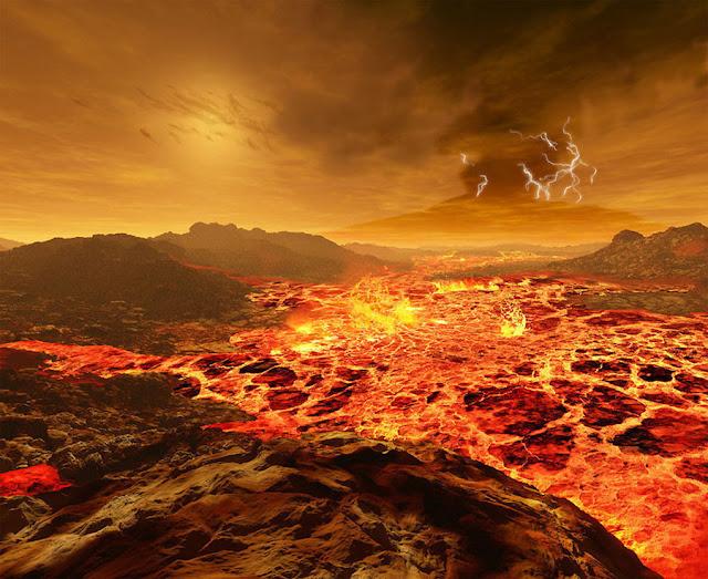 Sol visto de Vênus