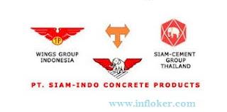 Lowongan Kerja Terbaru 2016 PT. SIAM-INDO CONCRETE PRODUCTS (PT. SICP)