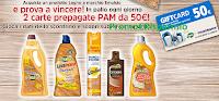 Logo ''Pam Panorama EmulsioLegno 2018'': vinci 60 Card da 50€