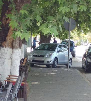 """Ηγουμενίτσα: Το """"παρκάρισμα"""" της ημέρας!!!"""