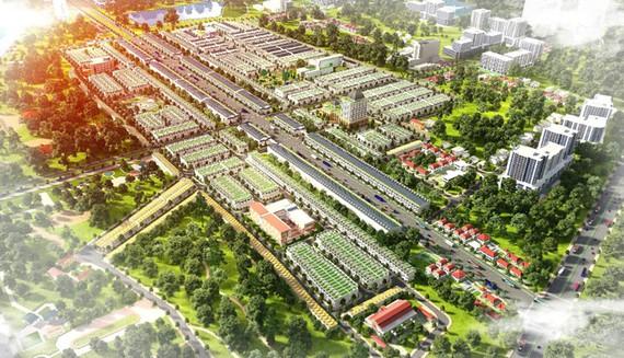 Sắc vóc huyện Chơn Thành nâng tầm với nhiều khu đô thị mới