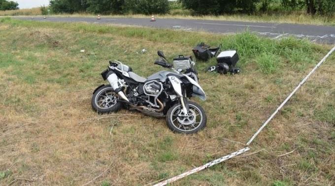 Két motoros is balesetezett Békésben