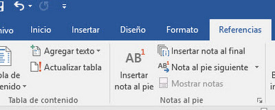 CREAR ÍNDICES EN DOCUMENTOS LARGOS DE WORD