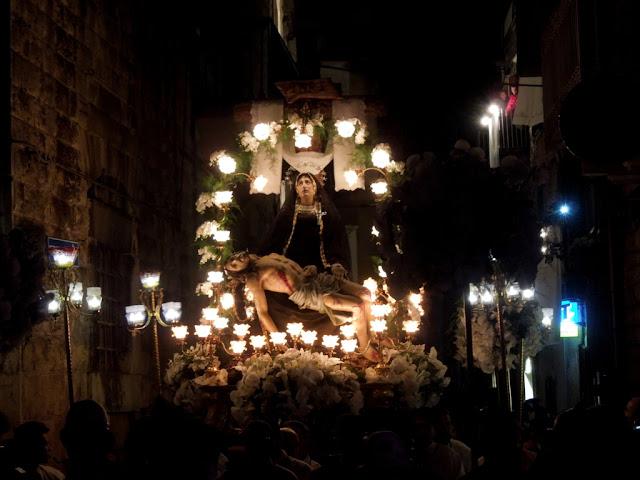 Processione la Pietà Ruvo di Puglia