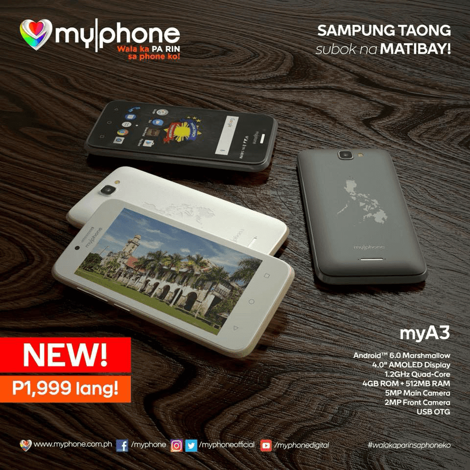 MyPhone MyA3