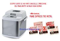 Logo Concorso Fiorucci '' I Love Pane e'' : in palio 84 macchine del pane Ariete