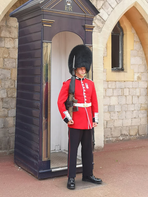Welsh Guard at Windsor castle