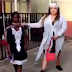 Lady complains bitterly after she was not allowed in church over her ''indecent dressing''