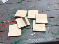 5 square pieces