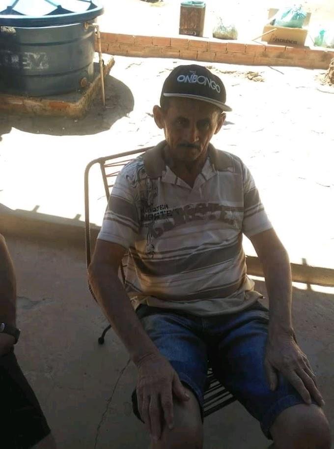 TRISTEZA: Homem de 69 anos é encontrado morto em sua residência na Piçarra em Elesbão Veloso.