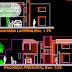 مشروع مسكن عائلي دوبلكس بشكل جميل اوتوكاد dwg